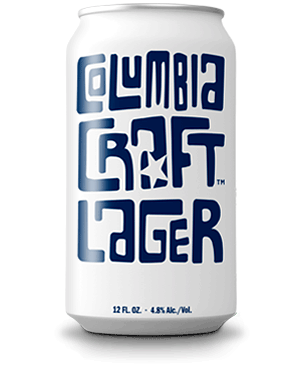 Can Image: Columbia Craft Lager