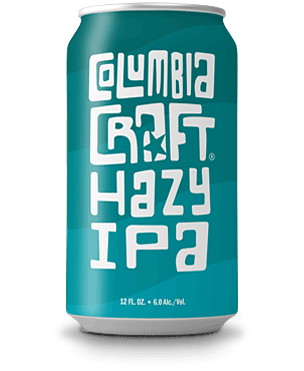 Can Image: Columbia Craft Hazy IPA